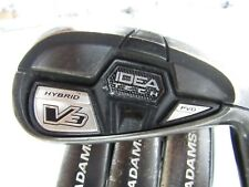 Used ADAMS Idea Tech V3 Hybrid 7-PW IRONS IRON Set Steel R-Flex