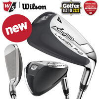 Wilson Staff Launch Pad Individual Steel Irons (4-Irons, SW, GW) - NEW! 2021