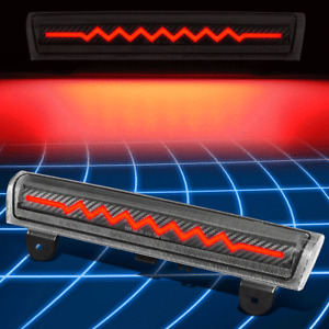 For 00-06 Suburban Tahoe Carbon Fiber Sequential Heartbeat LED Third Brake Light