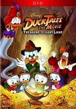Disney Channel Aladdin Style Story Ducktales Movie Treasure of the Lost Lamp DVD