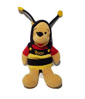 "THE WALT DISNEY COMPANY ""BUMBLE BEE POOH"" 8 INCH bean bag plush"