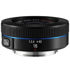 Samsung NX16mm F2.4 Ultra Wide Angle Lens For NX1 30 500 300 3000 (White Box)