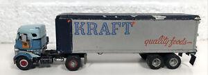 Vintage Ulrich Mack COE Kraft Quality Foods Truck 1/87