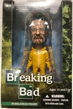 Breaking Bad Walter White Heisenberg Yellow Hazmat Bobblehead Figure Mezco 2013
