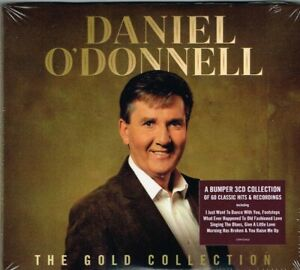 """DANIEL O'DONNELL Brand New 3 CD SET """"THE GOLD COLLECTION"""" -  Irish Country"""