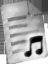 Poca luz música para F Cuerno; folleto, partituras, 2118 F