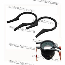 CAMERA LENS FILTER WRENCH KIT SET for 62mm-77mm PINZE MONTAGGIO FILTRO UV REFLEX