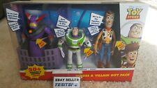Disney Toy Story   Heroes & Villian  Talking&sound gift pack