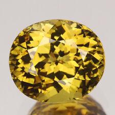 CERTIFIED 5.74CT Investment Gem Grade AAA Yellow Natural Grossular Mali Garnet