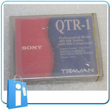 LOT 3 x Cartucho de Datos SONY QTR-1 Travan 20 / 40 GB Data Cartridge