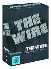 THE WIRE 1-5 DIE KOMPLETTE DVD STAFFEL / SEASON 1 2 3 4 5 KOMPLETTBOX  DEUTSCH