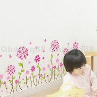 Pandora Flower Butterfly Wall Border decal Removable stickers kids nursery decor