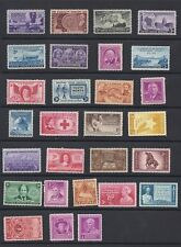 US 1948 Complete Commemorative Year Set of 28, 953-980 - MNH