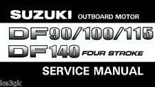 Suzuki Outboard Motor DF 90/100/115/140 Service Manual * CDROM * PDF