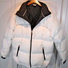 Mens ~ Nike ~ Overstuffed Down Feather Puffer Jacket Sz Large Winter Snow White