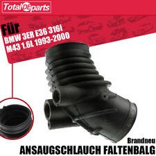 Ansaugschlauch Luftschlauch Faltenbalg für BMW 3ER + Compact E36 1993-2000 1.6L