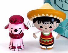 NEW Park Starz Series 5 Disney Vinylmation Small World Mexican Boy & Poodle Dog