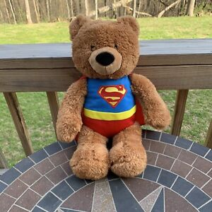 Gund DC Comics Superman Teddy Bear Plush Stuffed Animal Super Hero