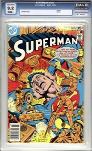 Superman #321  HALO Graded 9.2 (NM-) 1978 - Bronze Age.