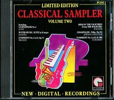 Various ‎– Classical Sampler Volume Two Limited Edition CD (IMP Classics, 1987)