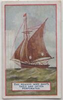 How Perforated Sails Increase Sailboat Speed Ocean Boat 90+  Y/O Trade Ad Card