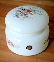 Bonbonnière ou boîte à gâteau en opaline des années 70 / Hand Maid Made in Italy