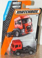 Matchbox 2015 #3 13 Ford Cargo red MOC VHTF MBX Adventure City