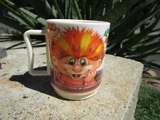 PETER PAN INDUSTRIES - TROLLIES TROLL DOLL 1992 PLASTIC CHILD'S CUP/MUG