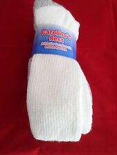 3 Pair XLarge Carolina Heavy Weight Sole Boot Sock Neuropathy Diabetic 13-15 USA