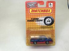 MATCHBOX-MB#59-T-BIRD TURBO COUPE-NEW ON CARD-1993--LOOK
