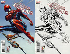 MARVEL AMAZING SPIDER-MAN #9 J. Scott Campbell COLOR & SKETCH Variant