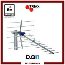 Antenne Terrestre UHF Triax DIGI 18 LTE 470 - 790 MHz C21 à C60 Gain 14,5 dB