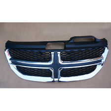 MT88 ABS Front Centre Grille Mesh Grill Cover For 2013-2016 14 15 Dodge Journey