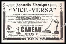 Publicité Lampe de Bureau vintage Mobilier Design Ad Advertising 1913