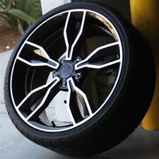 """Set(4) 20"""" 20x8.5 5X112 +28 WHEELS & TIRES PACKAGE AUDI RS4 RS6 RS7 SQ5 A8 A5 A7"""