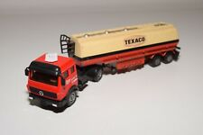 1:50 SOLIDO MATCHBOX MERCEDES TRUCK WITH TRAILER TEXACO EXCELLENT CONDITION