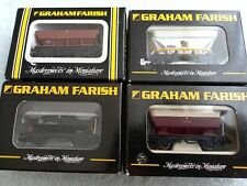 More details for graham farish n gauge wagons x 4 .373 502 . 373902 .373 475 .373 500 .46t wagons