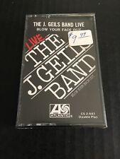 Original 1976 Sealed J. Geils Band Live Blow Your Face Out Cassette, NOS, READ