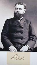 Robert Todd Lincoln 1st Son Of President Lincoln, Statesman Autograph ''Rare''