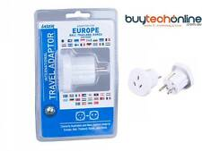 Travel Adaptor using in EU Countries. PW-T600 ##  Same Day Ship