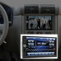 """2Din 7"""" FM Bluetooth Radio Audio Stereo Car Video Player+ HD Camera Touch Screen"""