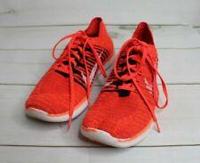 Men's 11 Nike Free Run RN Flyknit Orange Running Training Sneakers