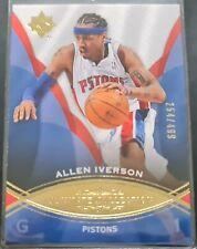 2008-09 2008 Bowman Chrome Basketball Card #33 Allen Iverson