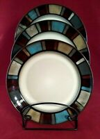 "Pfaltzgraff Everyday ""Nile"" 10"" Stoneware Dinner Plate w/Reactive Glaze"
