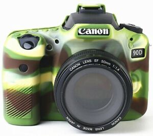 Silicone Camera Case Body Cover for Canon EOS T6i T7i 90D 6D2 5D3 5D4 800D 750D