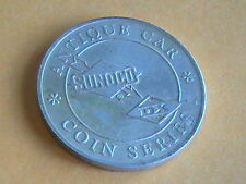 SUNOCO OIL ANTIQUE CAR TOKEN COIN SERIES MERCER RACEABOUT 1911