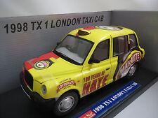 """Sun Star  1122  """"1998""""  TX  1  London  (Taxi  Cab)  1:18  OVP !"""