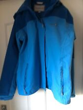 Regatta Great Outdoors Adventure Tech Blue Rain Coat Jacket - Size 12