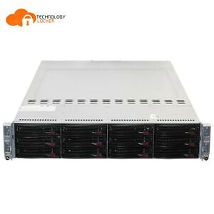 SuperMicro X8DTT 2U 4-Node Server 8x CPU X5670 @2.93GHz 384GB RAM 36TB SATA HDD