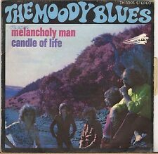 "THE MOODY BLUES ""MELANCHOLY MAN"" SP 1970 THRESHOLD 3005"